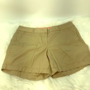 J Crew Woman Broken In Chino Shorts Sz 6